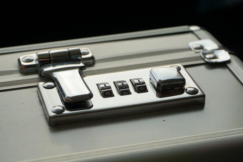 lockable briefcase