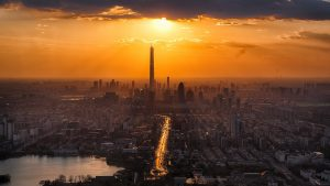 tianjin sunrise