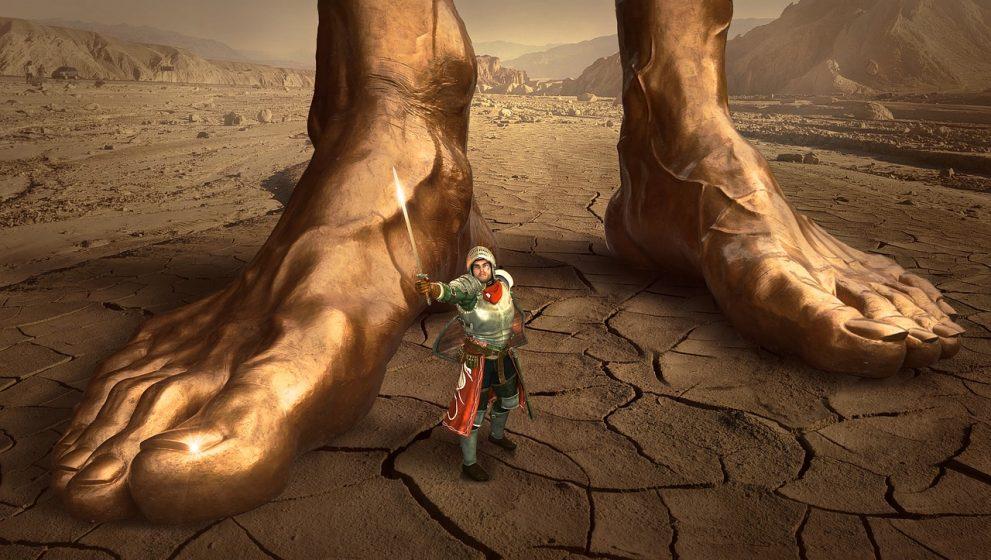 Even giants fall