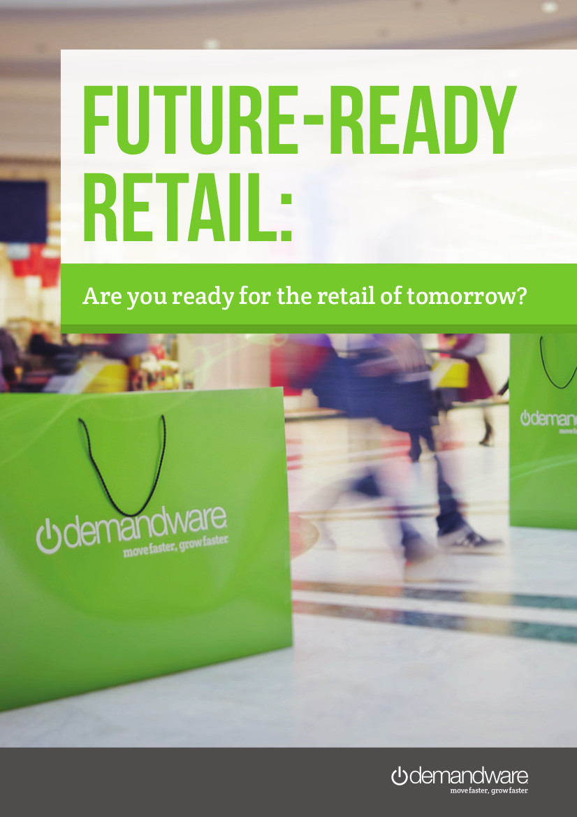 report cover: future ready retail