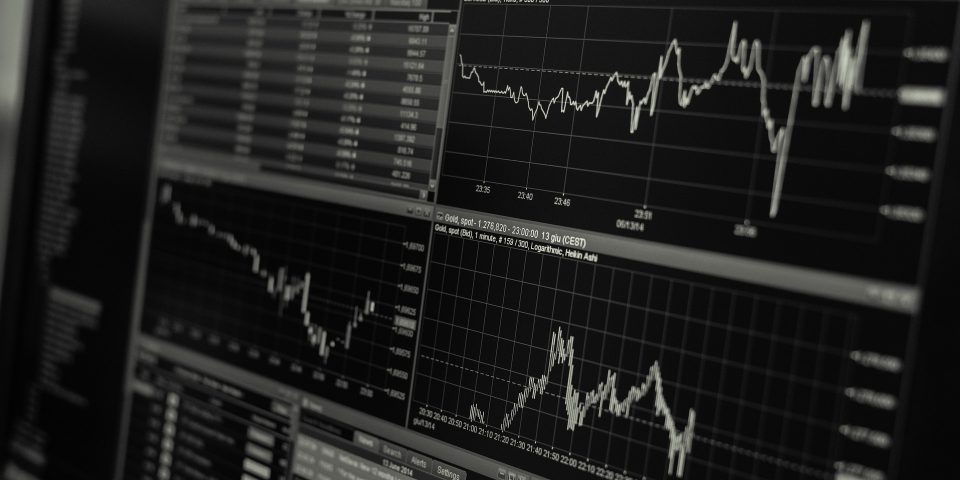 stocks and shares displayed on a computer screen- the future of business