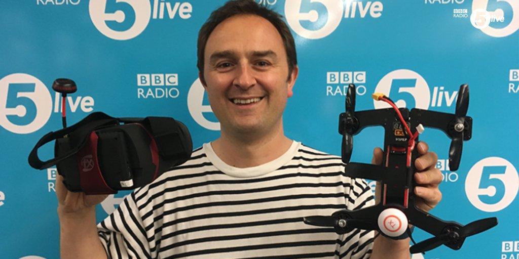 Tom Cheesewright, futurist speaker, at BBC 5Live