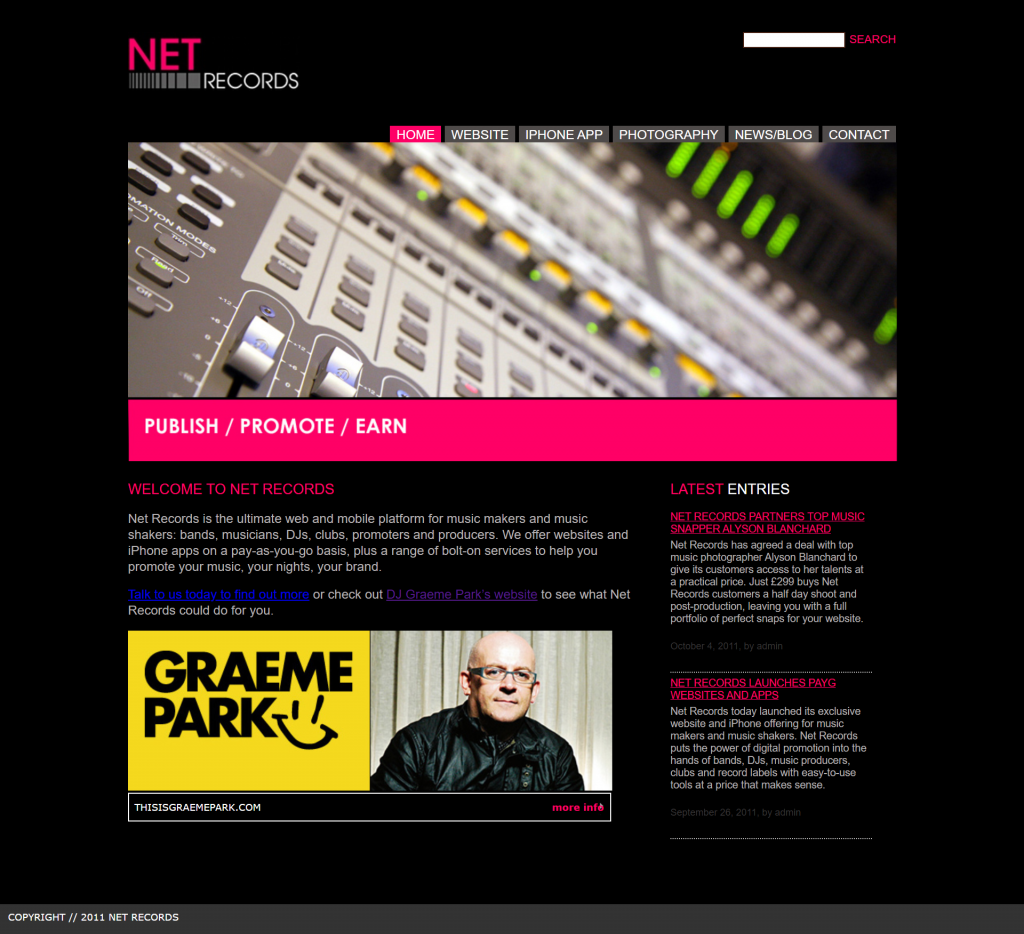 net records home page